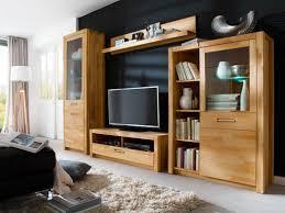 Wohnzimmer Vitrine Dekorieren Wohnwand In Nussbaum Gunstig Bei Lifestyleliving Wohnzimmer