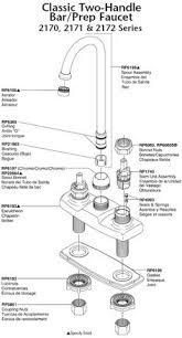 kohler kitchen faucet parts diagram culinaire single kitchen faucet parts diagram model