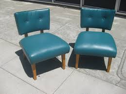 vinyl chair covers uhuru furniture collectibles sold teal retro vinyl chairs 100