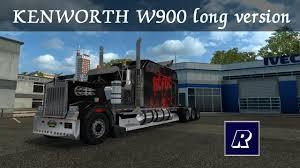 kenworth w900 2014 ets 2 kenworth w900 long version 1 14 1 26 youtube