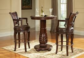 Turned Pedestal Bistro Table Pub Tables Robertson Billiards