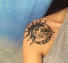 50 sun and moon tattoos ideas for couples 2018 tattoosboygirl