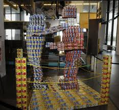 canstruction campaign against hunger times union