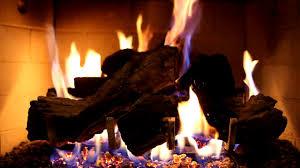 cozy winter fireplace burning fireplace crackling