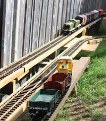how to build a garden railway