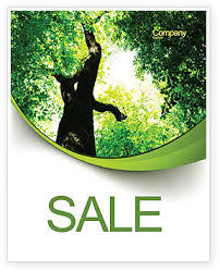 high tree sale poster template in microsoft word publisher and