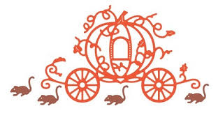 pumpkin carriage designs die pumpkin carriage with mice