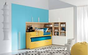 interior exterior plan classy blue and yellow interior for