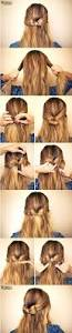 Easy Updo Hairstyles Step By Step by 15 Cute Hairstyles Step By Step Hairstyles For Long Hair