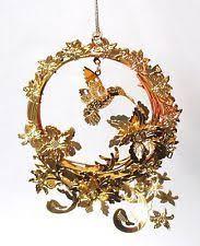 gold plated christmas ornaments danbury mint gold christmas ornaments 10 ornaments 1985