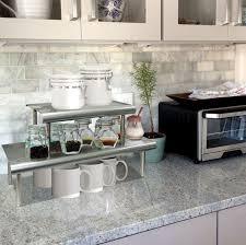 kitchen countertop storage ideas wonderful looking kitchen counter shelves beautiful ideas 17 best