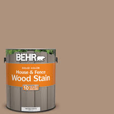 Paint Colors At Home Depot by Behr 1 Gal Sc 160 Rose Beige Solid Color House And Fence Wood