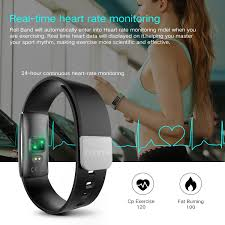 fitness tracker with real time heart rate monitor runme i6pro