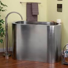 bathroom stylish and durable stainless steel bathtub emdca org stainless steel bathtub soaker tub with shower bathtubs freestanding