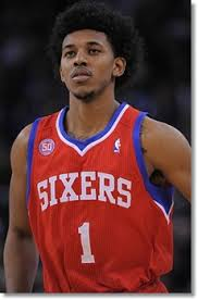 whst id the swaggy p haircut philadelphia 76ers nick young debuts the afro mullet haircut