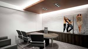 amazing personal office design with great sofa set and lighting