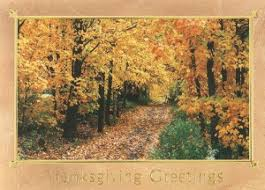 imprinted thanksgiving cards order promotional products