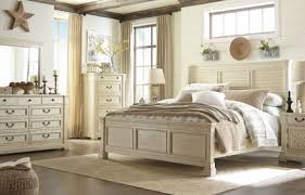 Bed Sets White Signature Design By Bolanburg White Louvered Panel Bedroom