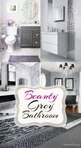 how to decor small bathroom with grey colors themsfly