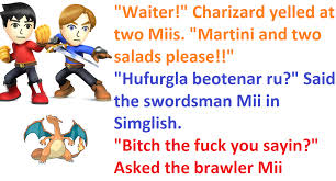 martini meme hear it hurgling super smash brothers know your meme