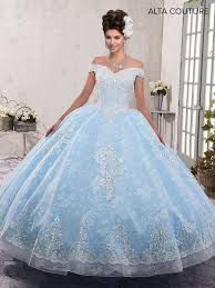 quinceanera dresses the shoulder lace quinceanera dress by alta couture mq3001