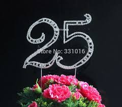 25 cake topper popular 25 cake topper buy cheap 25 cake topper lots from china 25