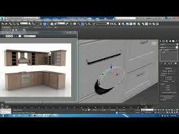 Tutorial On Modeling A Kitchen Cabinet In Dsmax  Part  YouTube - Kitchen cabinet creator