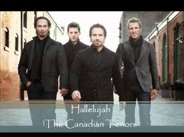 hallelujah the canadian tenors
