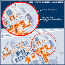 Ut Austin Building Map by Reading Series The Creative Writing Program At Utsa