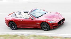 maserati grancabrio sport road test maserati grancabrio v8 mc 2dr mc shift top gear