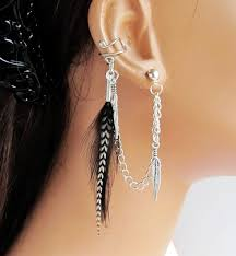 best earrings for cartilage cartilage earrings chain best earring 2017