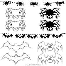 imagenes de halloween para imprimir y colorear plantillas dibujos halloween colorear niños halloween pinterest