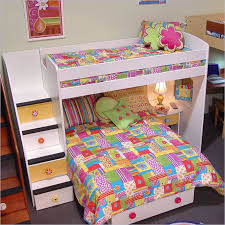 colorful loft beds with stairs u2013 home improvement 2017