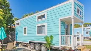 the beautiful aqua oasis vacation home tiny house listing youtube