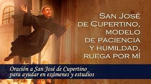 imagenes catolicas de humildad oración a san josé de cupertino para ayudar en exámenes y estudios