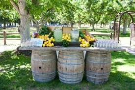 wine barrel porch light for sale 19 interesting ways of using wine barrels in home décor