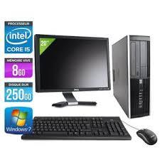 acheter ordinateur bureau pc bureau i3 achat vente pas cher