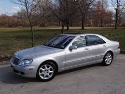 mercedes s500 2003 buy used 2003 mercedes s500 4matic silver with black interior 123k