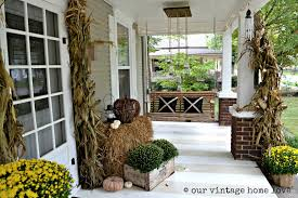 Vintage Home Interior Pictures Our Vintage Home Love Autumn Porch Ideas