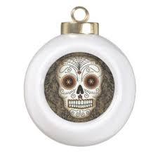 mexican sugar skull tree decorations ornaments