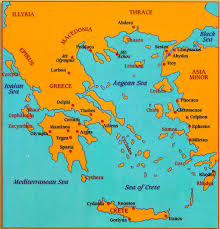 Ancient Greece Map Activity by Geography And History Cortadura 1st Eso Unit 3 Ancient Greece