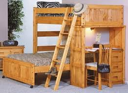 Bunk Beds With Desk And Trundle Here We Have A More Bespoke White - Full bunk bed with desk
