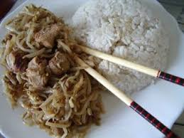 comment cuisiner les pousses de soja porc sauté aux germes de soja ou haricots mangos recette ptitchef