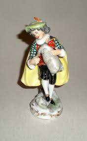 Antiques Decorative Antique Sevres Porcelain Musician Men Figure Antiques