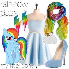 my pony earrings rainbow dash my pony polyvore