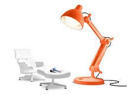 Swing Lamp Floor Standing Lamp Contemporary Metal Swing Arm Lummel Mal