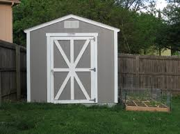 Backyard Shed Ideas by Outdoor U0026 Landscaping Simple Gray Wooden Small Shed Ideas With
