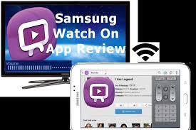samsung watchon apk samsung watchon app for samsung galaxy tab series 3 7 0