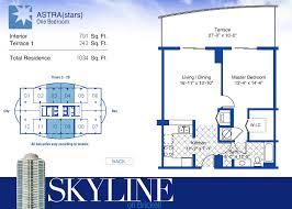 skyline on brickell condo floor plans