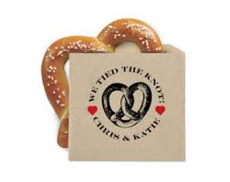 pretzel bags for favors wedding favor cookie bags pretzel favor bags pico de gallo